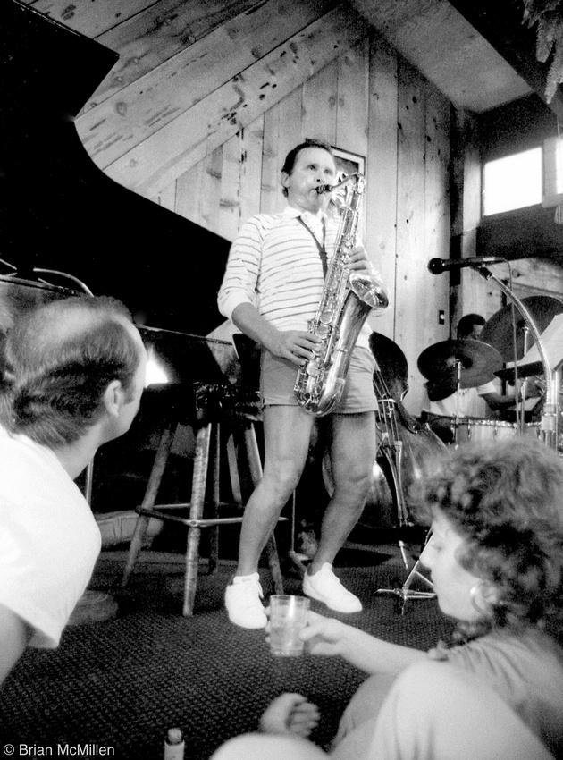 Stan Getz , Bach Dancing & Dynamite Society