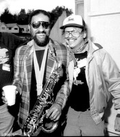 Sonny Rollins and Richie Cole